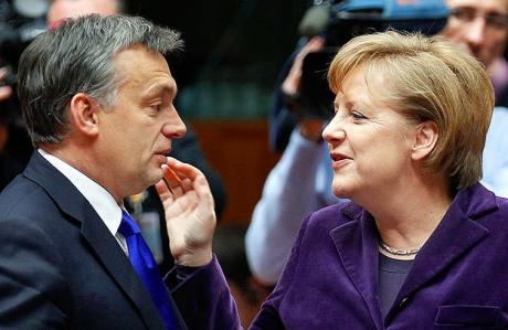 Angela Merkel și Viktor Orban susțin același candidat la șefia Comisiei Europene