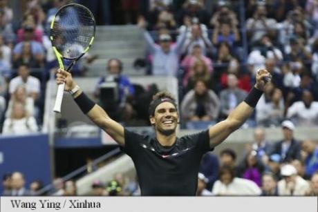 Liderul mondial, Rafael Nadal, a reuşit calificarea în sferturile de finală de la Australian Open