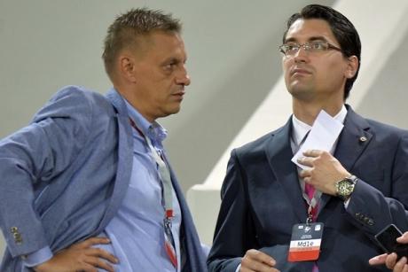 Bătălie dură pentru şefia FRF: Răzvan Burleanu RÂDE de Ionuţ Lupescu - de ce a plecat de la UEFA
