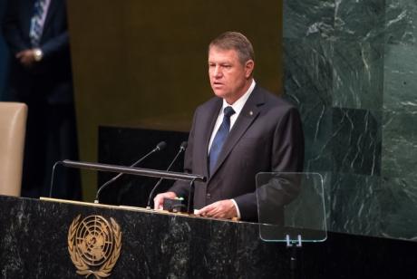Președintele Klaus Iohannis s-a adresat Adunării Generala a ONU