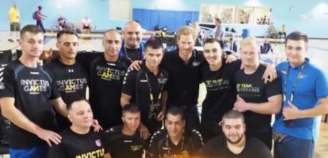 Întâlnire la nivel înalt între Prinţul Harry şi echipa Invictus România