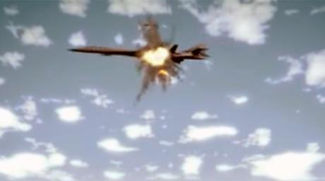Propaganda Coreei de Nord, turată la maxim: Imagini cu un bombardier și un portavion ale SUA în flăcări au fost date publicității de regimul de la Phenian