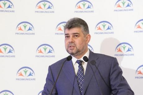 Marcel Ciolacu este președintele Comisiei speciale comune pentru elaborarea Codului administrativ
