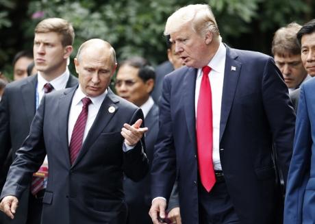 Donald Trump face praf Rusia, după o discuție telefonică cu Vladimir Putin, și laudă China / VIDEO