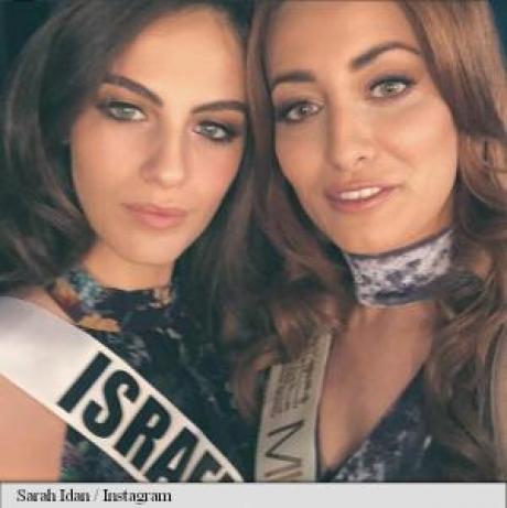 Mişcare incredibilă Miss Irak și Miss Israel au făcut un selfie