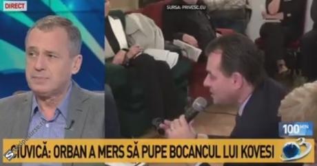 Mugur Ciuvică îi răspunde lui Ludovic Orban, care a spus, în fața lui Kovesi, că e 'TURBAT': 'Mă impresionează bolile psihice'