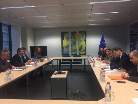 Ministrul delegat pentru Afaceri Europene, Victor Negrescu, s-a întâlnit cu cu vicepreşedintele Comisiei Europene
