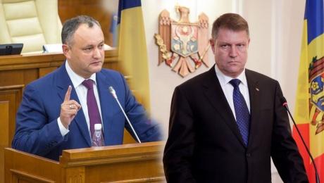 Iohannis îi răspunde DUR preşedintelui Igor Dodon. Ce spune despre vizita în Republica Moldova - VIDEO
