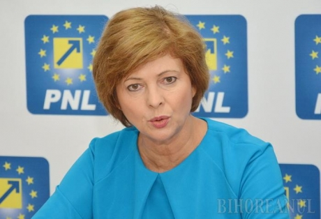 Florica Chereches - elected President of Liberal Women Orgnization