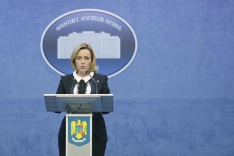 Ministrul de Interne, Carmen Dan: Prezint scuzele mele tuturor celor care au suferit în urma violenţelor de săptămâna trecută
