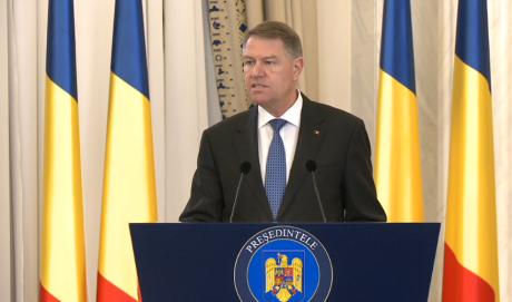 Klaus Iohannis, declarații de presă ora 17.30: anunță soarta Guvernului