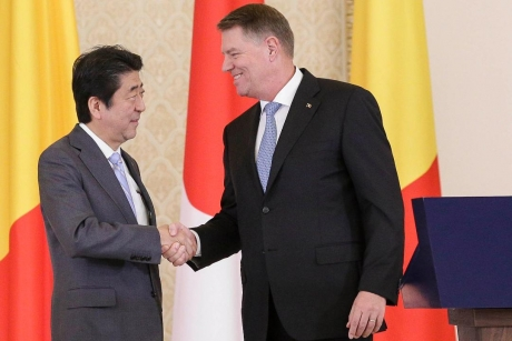 Shinzo Abe, at Cotroceni: Romania is a crucial partner to Japan