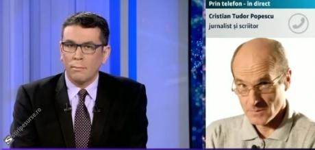 DERAPAJ MAJOR la Digi 24: Cum a catalogat-o Cristian Tudor Popescu pe Viorica Dăncilă, fără ca prezentatorul Cosmin Prelipceanu să intervină / VIDEO