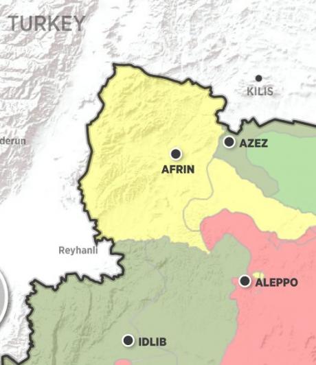Situația dă în CLOCOT în Orientul Mijlociu. Bomardamente intense ale armatei turce asupra kurzilor sirieni, susținuți de SUA