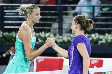 Karolina Pliskova îi declară 'RĂZBOI' Simonei Halep, înainte de 'bătălia' de la Australian Open: 'Aș face ORICE pentru victorie'