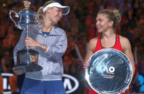 Caroline Wozniacki, reacție neașteptată după accidentarea suferită de Simona Halep: 'Nu este niciodată plăcut'