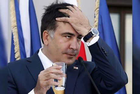 Mihail Saakaşvili a primit interdicţie de intrare în Ucraina timp de trei ani
