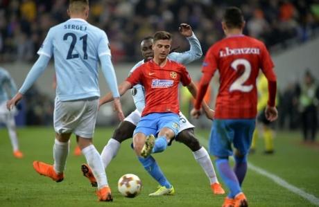 Slovenul Slavko Vincic arbitrează meciul Lazio - FCSB din Liga Europa