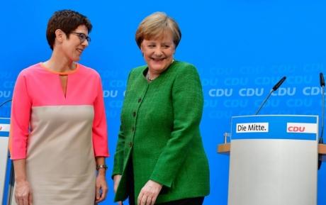 Protejata cancelarului Germaniei, Annegret Kramp-Karrenbauer este noul ministru al apărării, în locul Ursulei von der Leyen