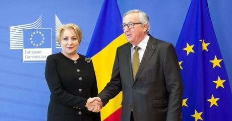 EC's Juncker tells PM Dancila he trusts Romanian judiciary