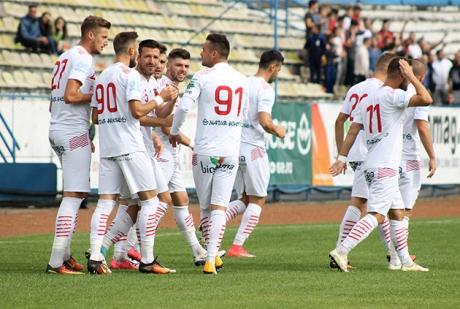 AFC Hermannstadt a terminat la egalitate meciul cu FC Voluntari, scor 1-1, în play-out-ul Ligii I