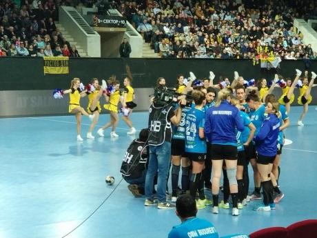 CSM Bucureşti a câştigat grupa D a Ligii Campionilor. Adversare dificile în faza următoare