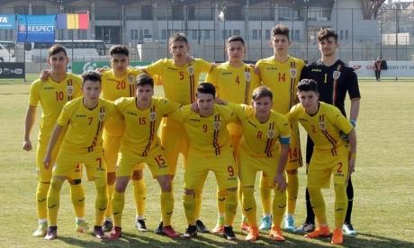 Naționala U17 a României a fost umilită de Israel, scor 5-1, în primul meci din Turul de Elită