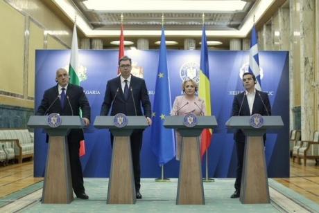 Președintele Serbiei i-a cerut premierului Viorica Dăncilă 'un sprijin şi mai puternic de la Bucureşti pe calea noastră europeană'
