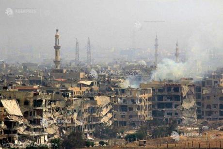 Coaliția coordonată de SUA a bombardat o moschee dintr-o zonă controlată de SI în nord-estul Siriei