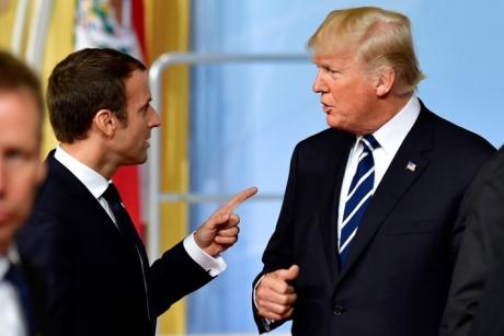 Emanuel Macron și Donald Trump încearcă să-și atenueze divergențele la Adunarea Generală ONU