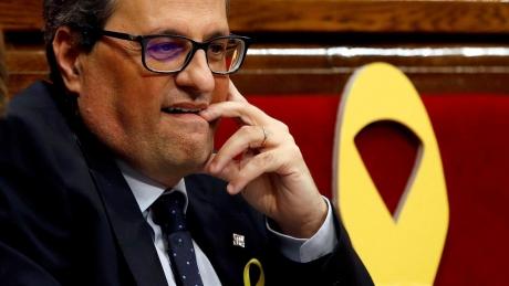 Noi tensiuni în Spania! Destituit, liderul separatist catalan NU acceptă sentința: 'Nu abandonez şi nu mă resemnez'