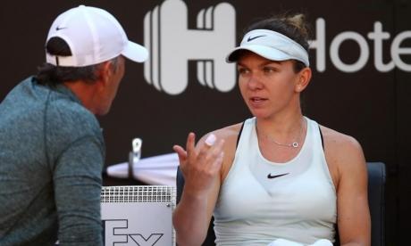 Simona Halep s-a ACCIDENTAT în meciul cu Svitolina: a mers direct la vestiare