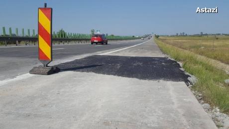 Infotrafic: Circulaţie oprită pe autostrada A2 Bucureşti – Constanţa, pe sensul către litoral, pentru lucrări
