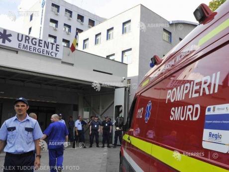 Maramureș: Un tractor a căzut în râul Crasna, șoferul a dispărut și este căutat de pompieri