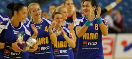 Naţionala de handbal feminin tineret a României s-a clasat pe locul 5 la Campionatul European din Ungaria, după ce a învins reprezentativa Danemarcei