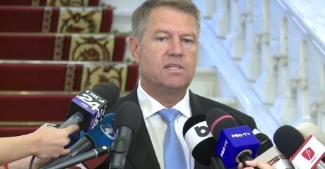 Klaus Iohannis face un APEL la toți românii: 'Să protestăm cu toată fermitatea, dacă se dă OUG'