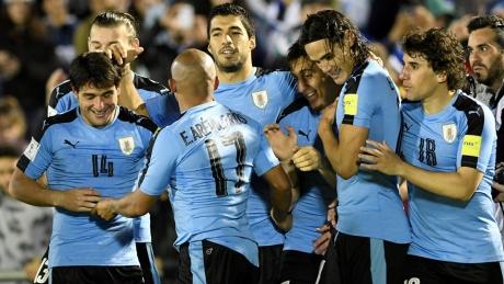 După Rusia, și Uruguay s-a calificat în optimile Mondialelor: Sud-americanii au învins Arabia Saudită - VIDEO