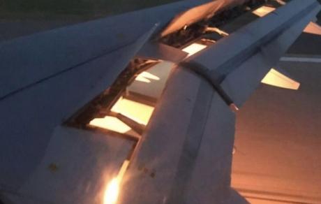 Aproape de o TRAGEDIE: Avionul care îi transporta pe fotbaliștii din naționala Arabiei Saudite a luat foc, în zbor - VIDEO