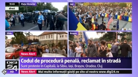 ALERTĂ Jandarmeria se pregătește de intervenție în FORȚĂ: TRUPELE SPECIALE au fost trimise în Piața Victoriei - LIVE VIDEO