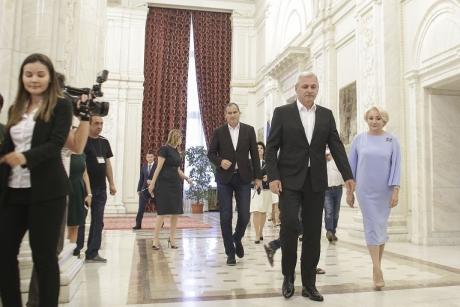 Liviu Dragnea, mesaj pentru Viorica Dăncilă după CEx: 'Dumneai este responsabilă, sinceră, grija ei e pentru guvernare'