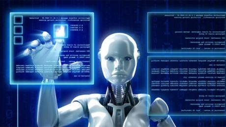 Mai multe opere de artă create de un robot pictor au fost prezentate la o expoziţie din Beijing