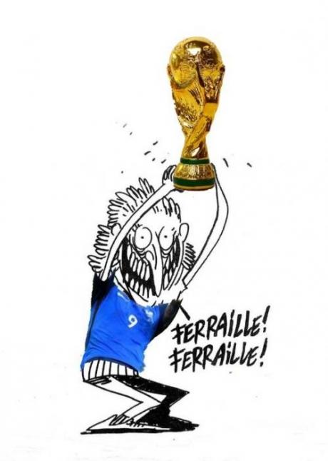 Românii și-au luat REVANȘA: Francezii au UMILIT-O pe Simona Halep, iar acum a apărut caricatura care face RAVAGII, după victoria Franței la CM
