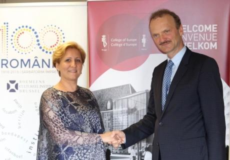 Instituția care formează prim-miniștri și înalți oficiali europeni a devenit partener al ICR