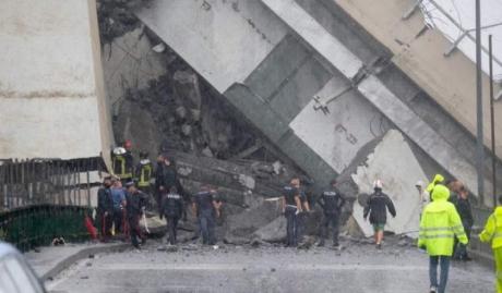 Decizie RADICALĂ a firmei care administrează podul prăbușit în Italia