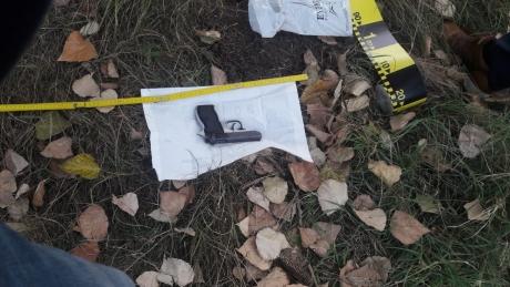 ALERTĂ - Polițiștii au găsit arma furată în Piața Victoriei