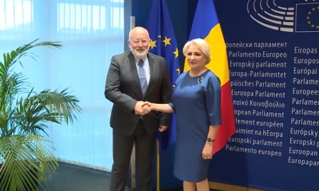 PM Dancila about CVM report: I am disappointed; it isn't fair, Romania's arguments are being ignored