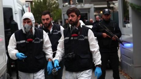 Poliția turcă efectuează mai multe verificări pentru a găsi rămășițele jurnalistului saudit -surse