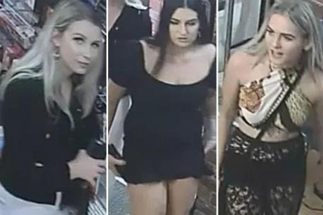 Trei fete 'fermecătoare' au furat patru vibratoare dintr-un sex-shop - FOTO