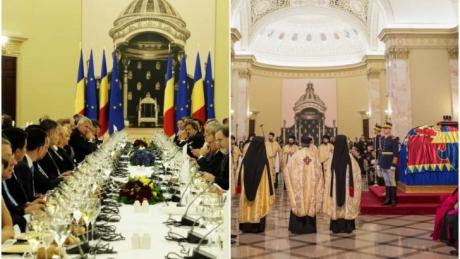 Guvernul Dăncilă, 'OSPĂȚ' în Sala Tronului de la Palatul Regal, unde, acum un an, a fost depus trupul Regelui Mihai