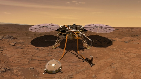 Descoperirea care aruncă în aer tot ce știam despre Marte: Văile descoperite în urma topirii ghețarilor